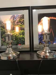 2x Lucci table lamps
