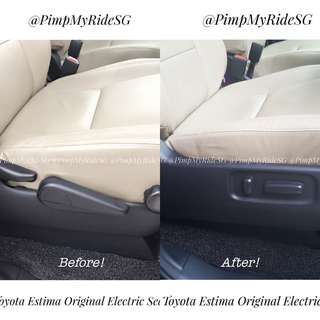 Electric Seat Retrofit For Toyota Estima (Original Parts) Price Inclusive Of Installation!