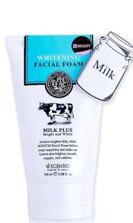 🚚 泰國Q10牛奶淨白洗面乳
