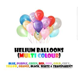 12 Inch Helium Balloons