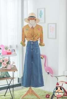 🍿 Vintage Blouse VB1496