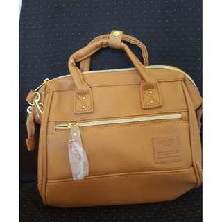 Authentic Anello Bag - Synthetic Leather 2 Way Boston (Mini)