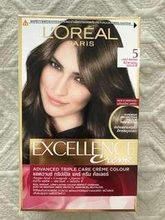 Excellence Cream Colour #5 Light Brown