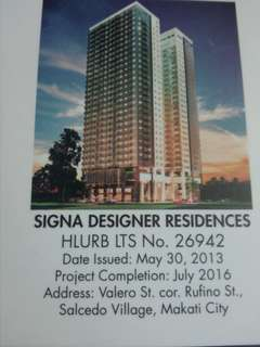 Condominiums at Signa Designer Residences