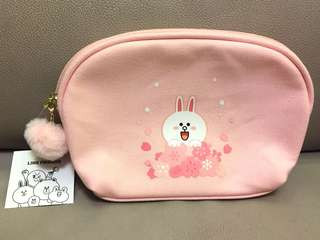 Sakura limited Edition Line Friends Cony Pouch