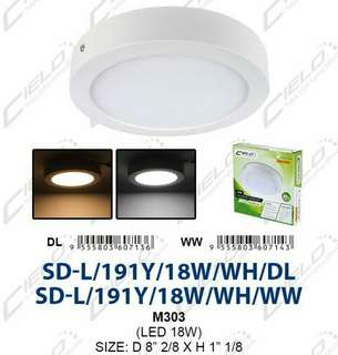 LED Surface downlight 18W