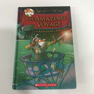 Geronimo Stilton - book 3 of The Kingdom of Fantasy series - The Amazing Voyage