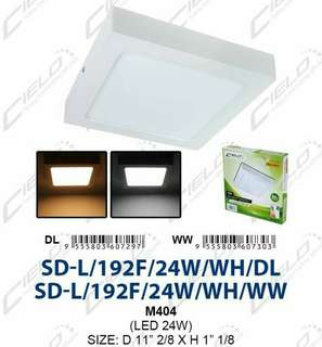 LED Surface downlight 24W