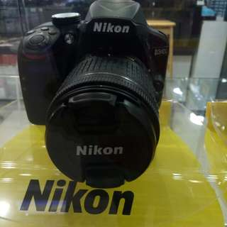 Promo kamera Nikon 3400 tanpa kartu kredit