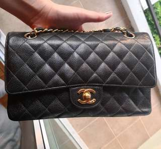 Authentic Chanel Classic Medium Flap Bag