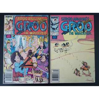 Groo the Wanderer #47,#48 (1989 Marvel)- Set of 2, By Sergio Aragones!