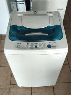 Toshiba 6.5kg washing machine fully automatic...We give one month warranty if Anny problem we change or repair body condition 80% good Working condition 100% good You can call or SMS whatsup 01131838436