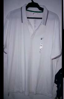 Uniqlo Washed short sleeve polo by MB