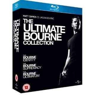 Original Blu Ray boxset sale - Dark Knight/Batman Begins and The Ultimate Bourne collection