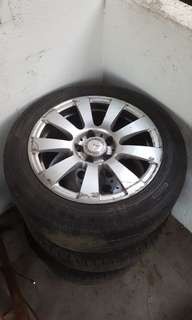 """Mercedes 15"""" and 16"""" rims"""