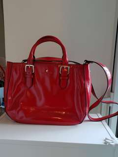 Authentic Red Patent Kate Spade Bag