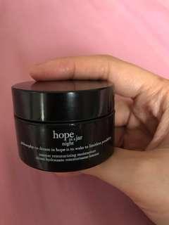 FREE - Hope in a Jar night moisturizer