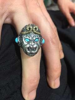 925银戒指,悟空,斗战圣佛