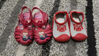 2 pairs of shoes for your little one this summer