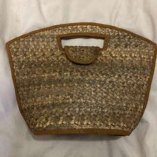 峇厘島代回 全新手提編織包