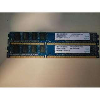 DDR3L 4GB x 2 1600Mhz