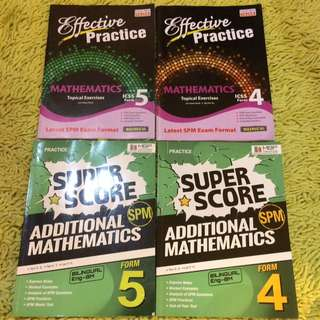 Exercise Book For Math And Addmath