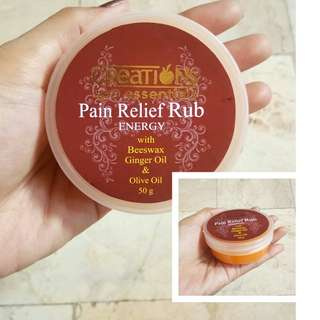 Pain Relief Rub (All Natural)