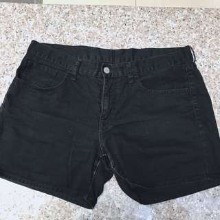 UNIQLO Black Shorts