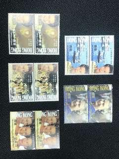 女皇登基40周年郵票