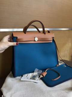 Authentic Hermes Herbag PM