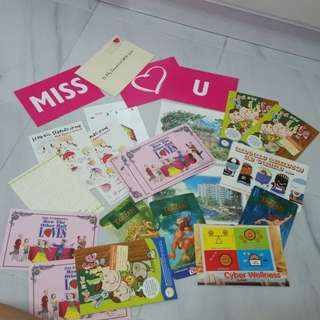 BN lot of 25 pcs post cards collectible