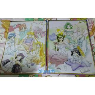 美少女戰士A3海報 Sailor Moon Poster (2 pcs)