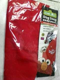 Dog Sling 袋鼠媽媽 寵物背巾 ELMO 限量