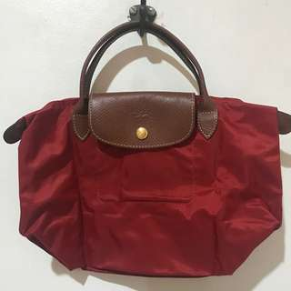 Authentic Longchamp small red
