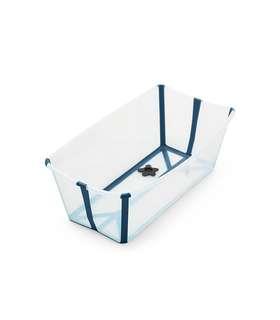 Used - Stokke Flexi Bath - Transparent Blue