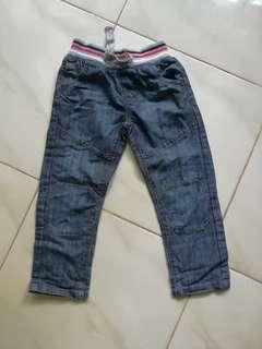 Boys Denim Pants fits 3yo