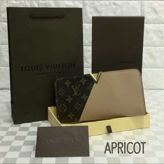 Louis Vuitton Kimono Wallet Apricot Color