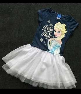 Brand new Frozen Elsa Dark Blue Dress