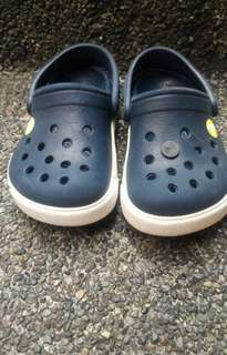 Authentic crocs for baby boy
