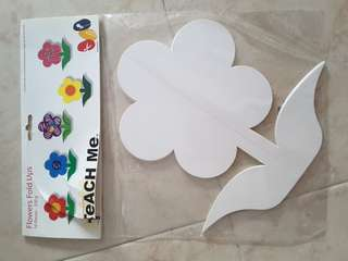 Big papercut flower