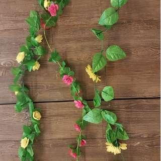 Flower Vines/Leaves Vines