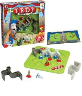 Troy extra muros game (multi-level logic game)