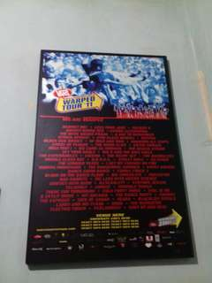 Poster vans warped tour 2011