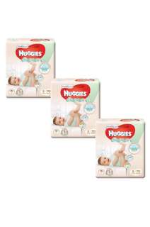 BN Huggis platinum diapers for sale size S