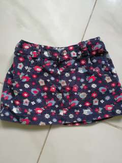 Brandnew mini skirt for 6-12mos