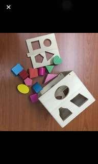 Educational  Wooden Building Block