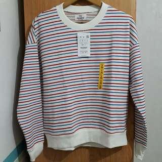 Pull&Bear Striped Sweatshirt