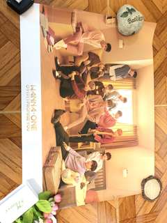 Wanna One Poster I.P.U Day ver