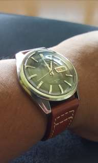 Seiko 5 vintage watch