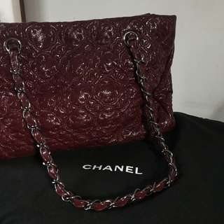 Authentic Maroon Chanel Bag